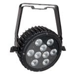 Showtec Power Spot 9 Q5 RGBWA Flat Par DMX Spotlight Spot